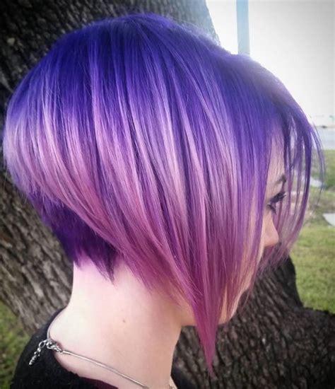 Die Schönsten Frisuren 2016 by Violet Hair Color With Highlights Violet Purple