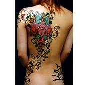 Womens Ink Back Tattoos For Women