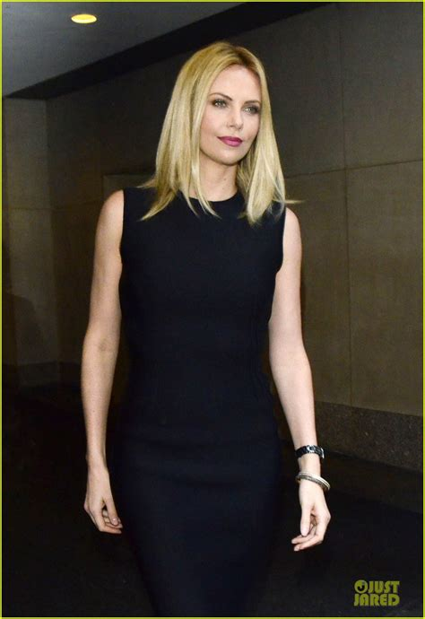 Charlize Theron Got Rid Of The Black Do by Charlize Theron S Black Dress