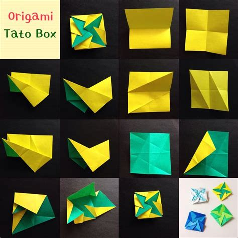 Origami Tato Box - origami book and photos on
