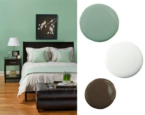 mint brown white 8 gorgeous bedroom color schemes