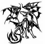Demon Wing Wolf By Revie6661