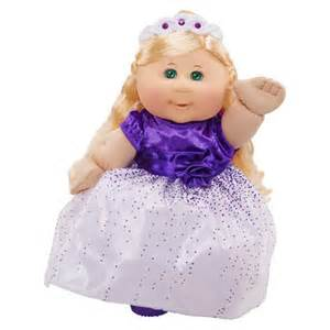 Patch kids holiday kid blond with purple dress product details page