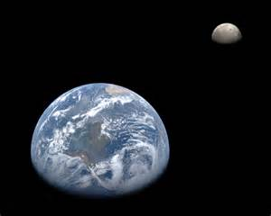 Earth and moon from messenger wallpaper wide screen wallpaper 1080p