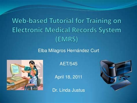 web based tutorial web based tutorial on electronic patient records system