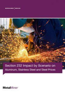 it's back: updated section 232 impact report includes new