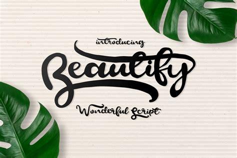 dafont script font beautify script font dafont com
