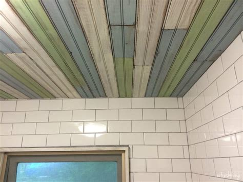 Outdoor Beadboard Ceiling Panels by Scrap Wood Project Bead Board Address Sign Refresh Living