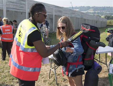 Get Ready For Glastonbury Festival Bum Bag At Asos by Festival Goers Line Up For Glastonbury Daily Mail