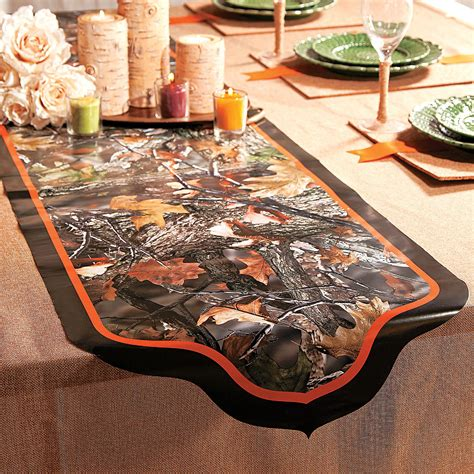 Camo Table Runners by Camouflage Wedding Table Runner Table Runners Table Covers Tableware Supplies