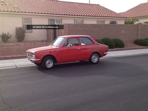 2 Door Toyota 1969 Toyota Corolla 2 Door 4 Speed Ke10