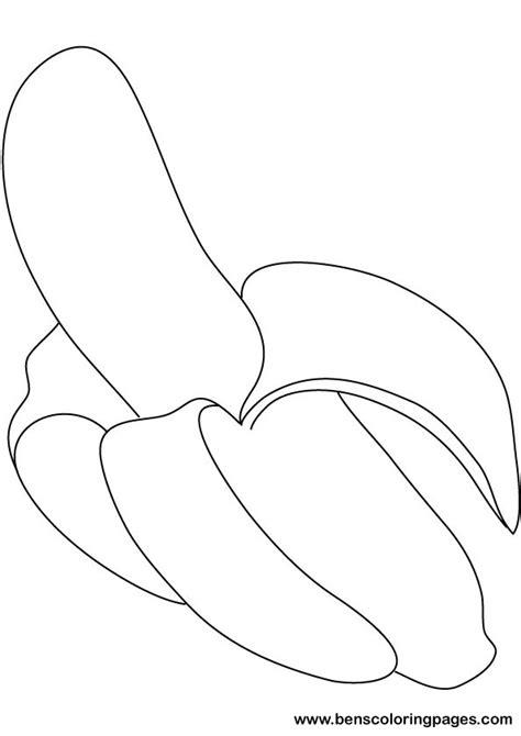 banana template of pears big bananas free big bananas printable template page