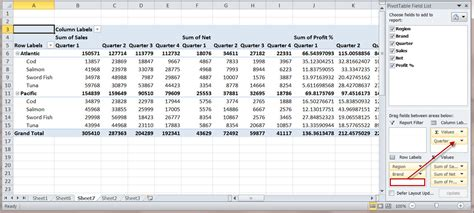 format report pivot table excel 2007 how to create a ms excel 2010 pivot table an