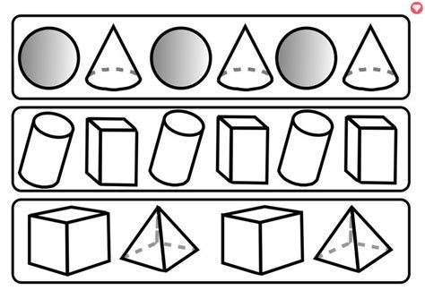 shape repeating pattern 17 best images about 3d shape on pinterest student