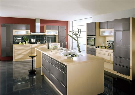 High Gloss Kitchen Designs For Modern House Gloss Kitchen Designs