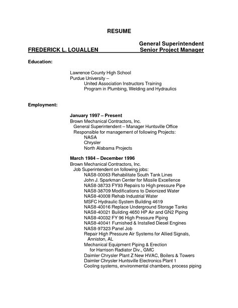 resume templates tig welder welder resume template