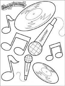 Galerry music education coloring pages