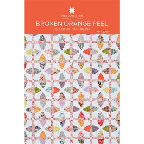 quilt pattern orange peel block broken orange peel quilt pattern by msqc missouri star
