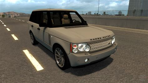 land rover truck range rover for american truck simulator