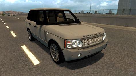 range rover truck in range rover for american truck simulator