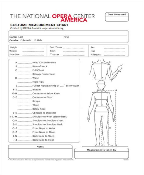Costume Measurement Site Image Suit Measurements Template Exle Page Templates Suit Measurements Template