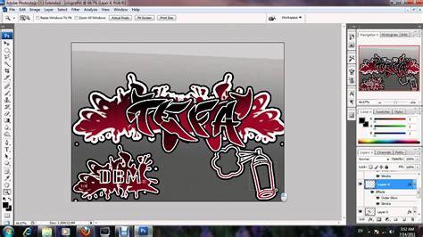 pro graffiti text  photoshop youtube