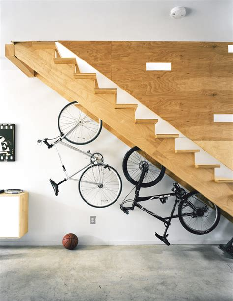 creative bike storage 60 stairs storage ideas for small spaces your house stand out