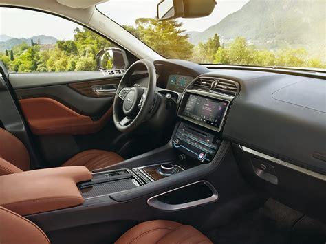 Suv Interior by New 2017 Jaguar F Pace Price Photos Reviews Safety