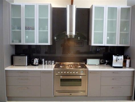 ideas  installing   frosted glass cabinets