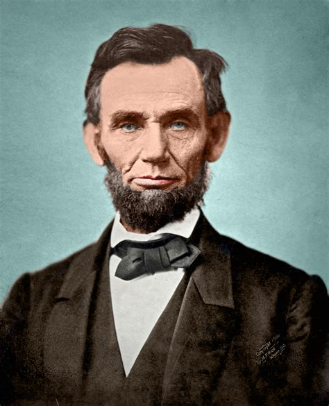File:Abraham Lincoln November 1863 Color