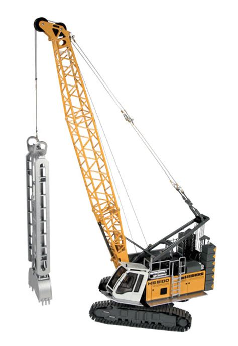 nzg model liebherr hs  hd hydraulic crawler crane