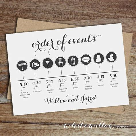 Wedding Order Of Events by 11 Best Images About Esk 252 Vői Tippek On Tie A