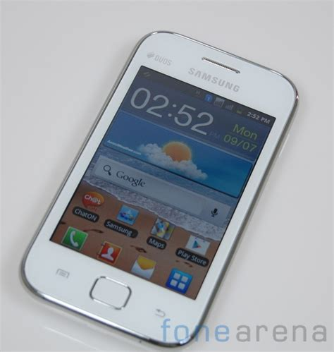 Samsung Galaxy Ace Duos samsung galaxy ace duos gt s6802 review