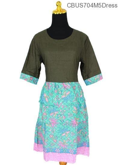 Sarimbit Dress A 53 baju batik sarimbit dress motif godhong tumpal dress