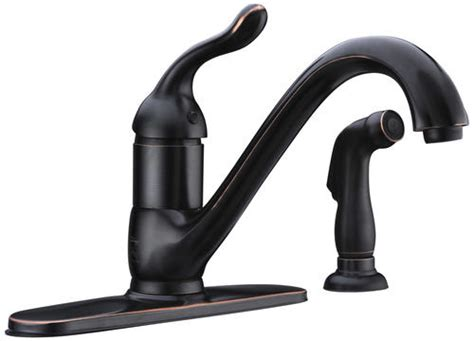 menards kitchen faucets tuscany brooksville single handle kitchen faucet at menards 174