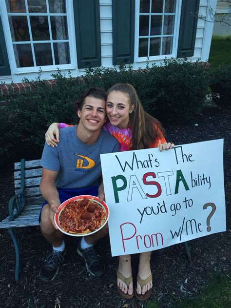 prom proposals for guys prom proposal italian style this prom proposal is for