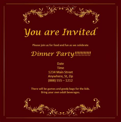 Invitation Free Template invitation templates word excel pdf