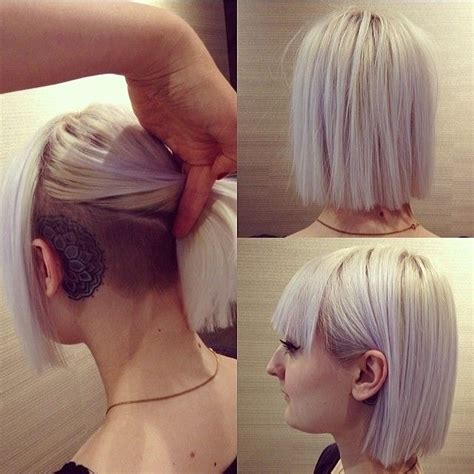 haircut bob undercut 18 short hairstyles for thick hair styles weekly