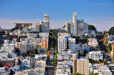 san francisco map russian hill russian hill from coit tower san francisco i took this