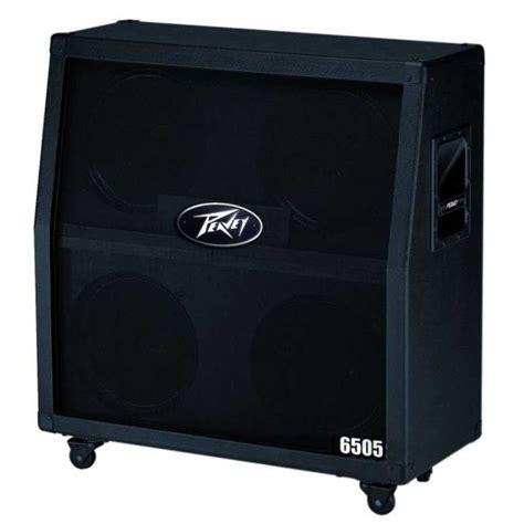 peavey 6505 300 watt 4x12 quot slant guitar speaker cabinet