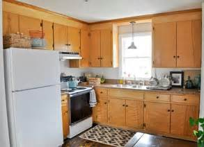 Updating Old Kitchen Cabinet Ideas by Vintage Kitchen Cabinets 5 Room Makeovers That Only Took