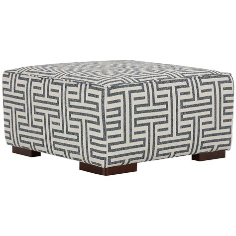 blue fabric ottoman city furniture doric blue fabric accent ottoman
