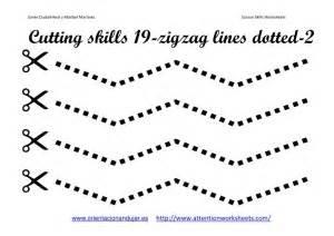 Preschool worksheet printables fine motor skills cutting lines