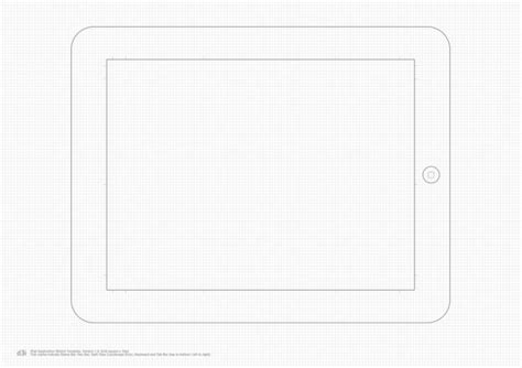 ipad grid template blank template christopherbathum co