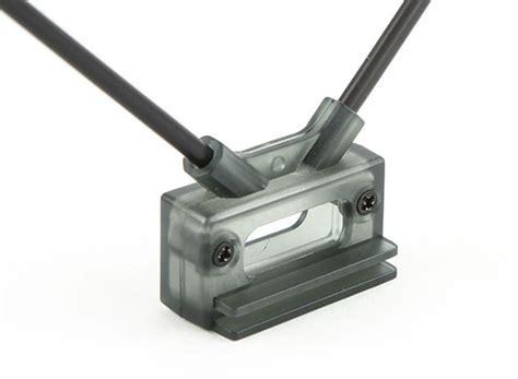 Fpv Receiver Antenna Mount System hobbyking receiver antenna mount dual 45deg with direct or