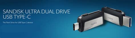 Sandisk Ultra Dual Usb Drive Type C Sdddc2 32gb Hitam sandisk ultra dual usb drive type c 256gb sdddc2 256g black jakartanotebook