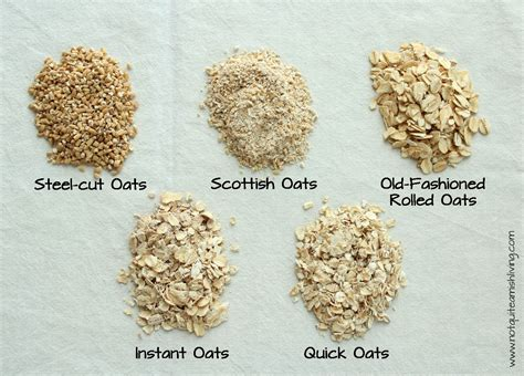 The Difference Between Steel Cut Old Fashioned Quick - oats what s the difference