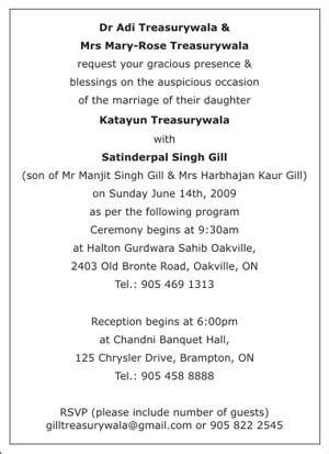 wedding card matter in text sikh wedding invitation wordings sikh wedding wordings sikh wedding card wordings