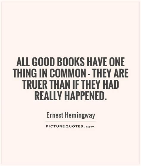 the one things books ernest hemingway quotes sayings 494 quotations