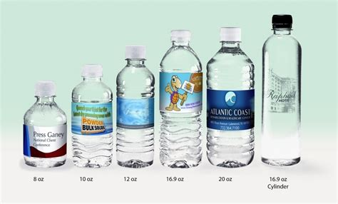 1 Oz Bottle Size - selecting your style brand your name water